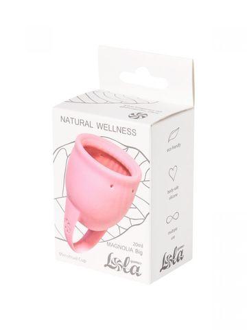 Розовая менструальная чаша Magnolia - 20 мл.