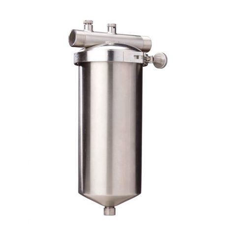 Фильтр Гейзер 4Ч (10мкм) мешочного типа из нержавеющей стали, арт.32100
