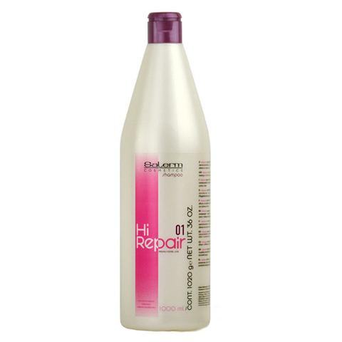Шампунь для антивозрастного восстановления структуры волос Hi-Repair,Salerm 1000 мл.