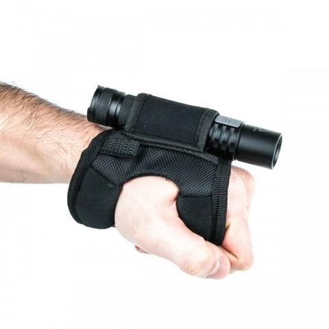 Крепление на руку для дайвинговых фонарей, черный большой