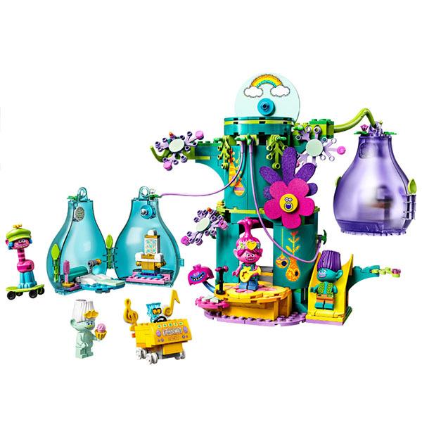 LEGO Trolls 41255 Конструктор ЛЕГО Тролли Праздник в Поп-сити