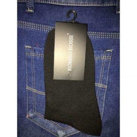 Мужские носки черные Romeo Rossi Black