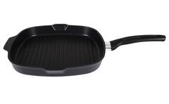 Сковорода-гриль «Традиция» несъемная ручка 28 см СГК280а