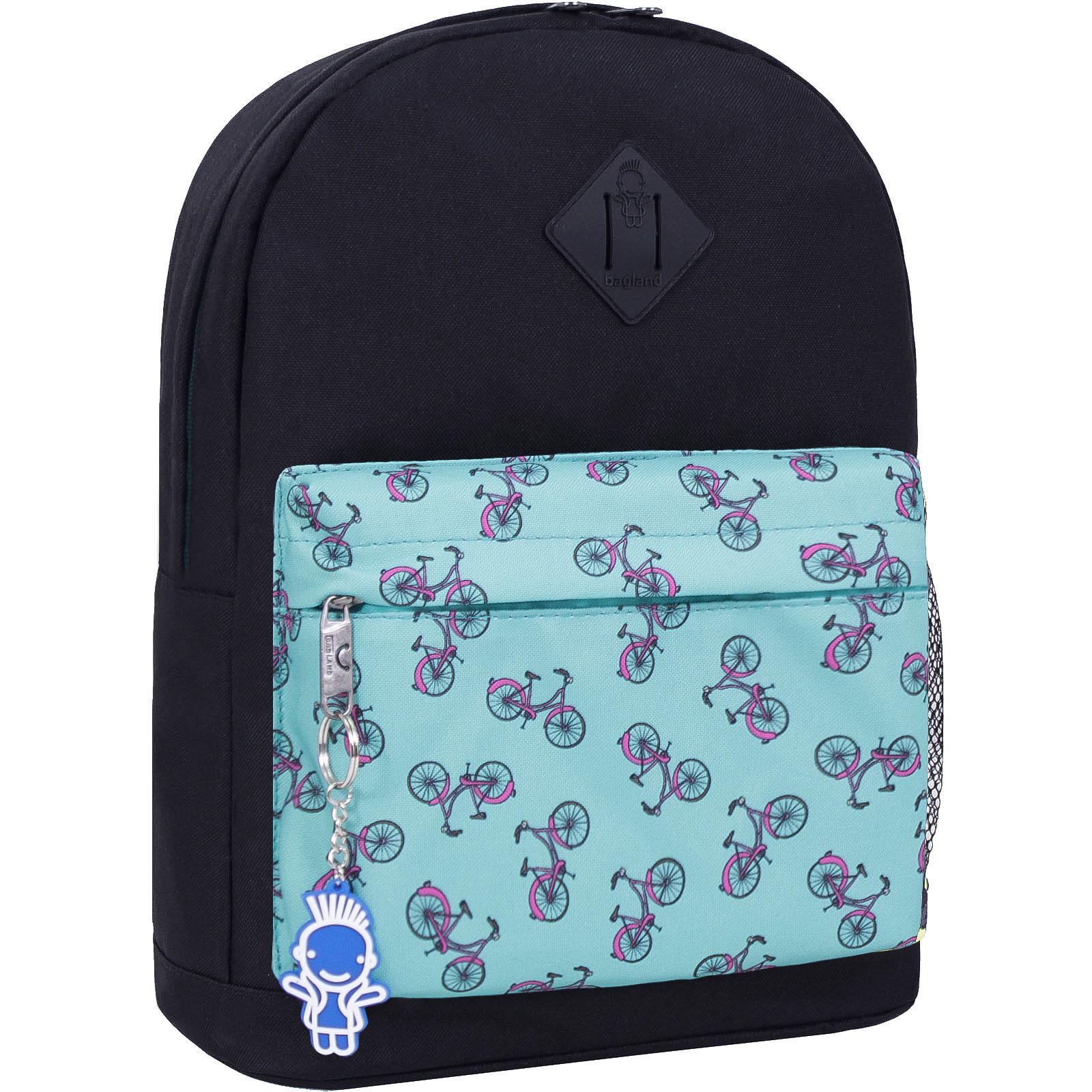 Городские рюкзаки Рюкзак Bagland Молодежный W/R 17 л. черный 446 (00533662) IMG_2553_446_-1600.jpg