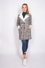 Кашемировое пальто с синтепоном оптом