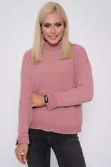 <p>Модный пуловер порадует свою обладательницу, а так же согреет в прохладные деньки.</p> <p>(Один размер: 42-48)</p>