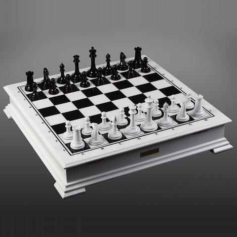 Шахматы «Стаунтон» Чёрно-Белые классические