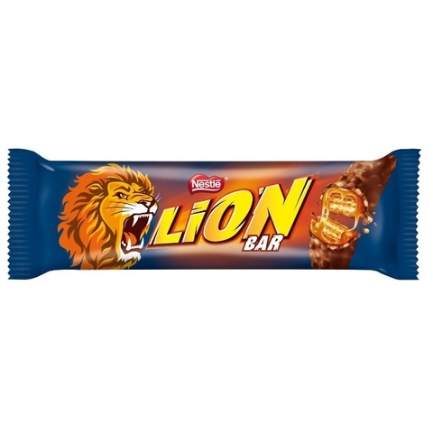 Батончик шоколадный Lion Caramel с карамелью 42 гр
