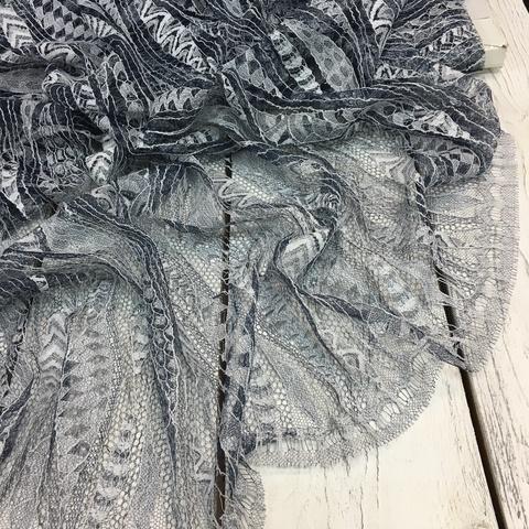 Кружевное полотно Sophie Hallette - Lazuli_Blanc