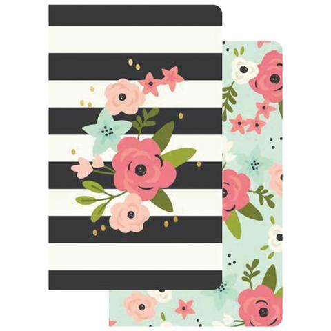 Блокноты для записи Carpe Diem Traveler's Notebook Inserts - Bloom- 2шт/16л
