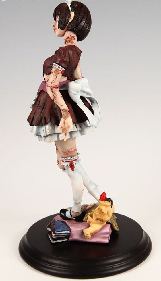 Zombie Girl 1/8 Scale Resin Statue