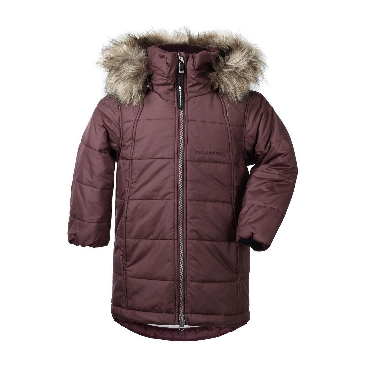 куртка Didriksons Markham Old rust (бургундия)