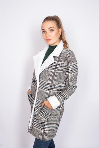 Кашемировое пальто с синтепоном купить