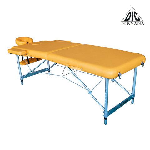 Массажный стол DFC NIRVANA Elegant Luxe Mustard (TS2010_M)