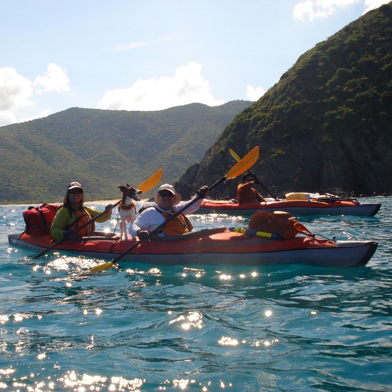 Expedition Touring Advancedframe® Convertible Elite inflatable kayak