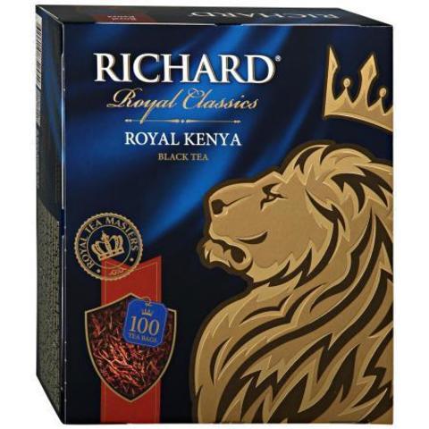 Чай черный «Richard» Royal Kenya 100 пакетиков