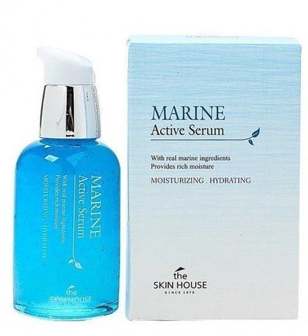 Сыворотка для лица с керамидами, 50 ml, The Skin House Marine Active Serum