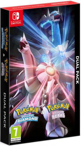Pokemon Brilliand Diamond & Shining Pearl Dual Pack (Nintendo Switch, английская версия)