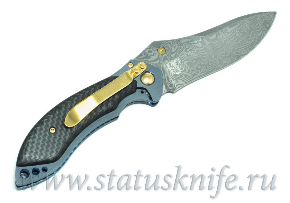 Нож BENCHMADE MINI SKIRMISH 635-81 GOLD CLASS - фотография