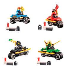 Minifigures Phantom Ninjago Bonezai with Motorcycle 202