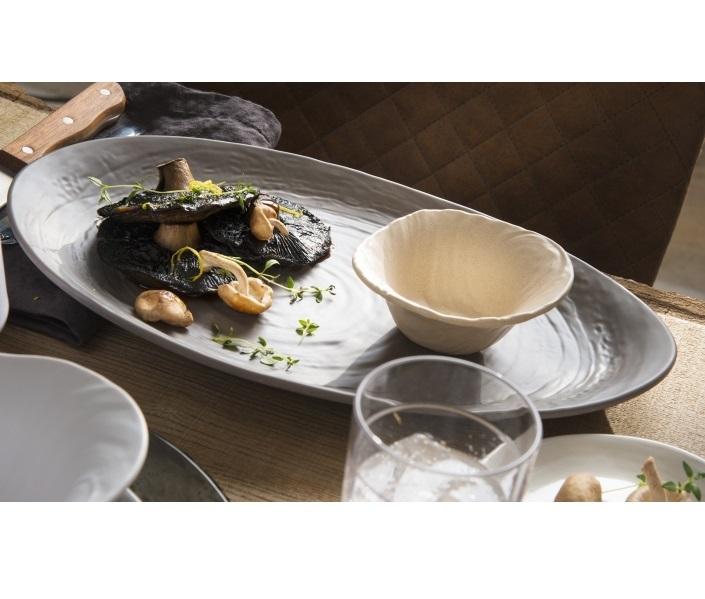 Steelite Scape Melamine collection / Mushroom
