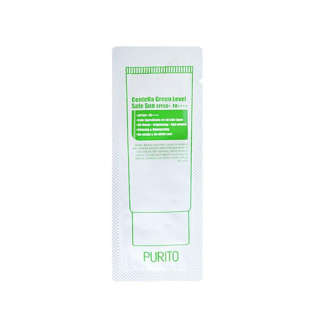 PURITO Солнцезащитный крем PURITO Centella Green Level Unscented Sun(sample) 2000763431392.jpg
