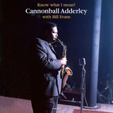 Cannonball Adderley With Bill Evans ‎/ Know What I Mean (LP)