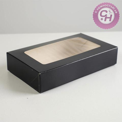 Коробка самосборная с окном, 20*12*4 см, 1 шт.