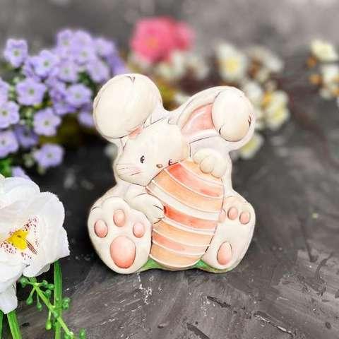 Пасхальный кролик с яйцом №6