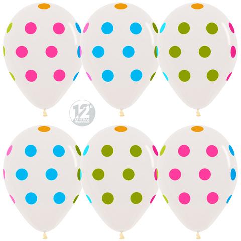 шары прозрачные кристалл разноцветные точки неон флюорисцентные