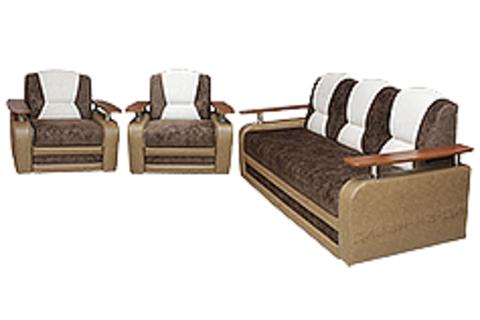 Диван + 2  кресла (комплект №3)