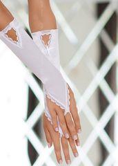 Перчатки с петелькой на пальчик -