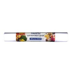 Пакет фасовочный Знак Качества ПНД 30х40 см 8 мкм (100 шт в упаковке)