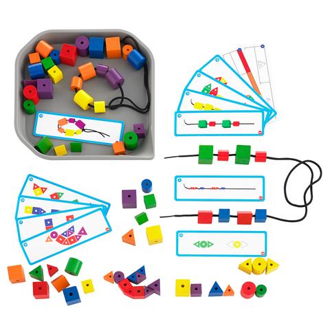 Набор  FunPlay шнуровка с карточками