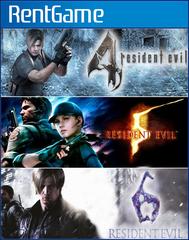 Набор Resident Evil «3 в 1» PS4 | PS5