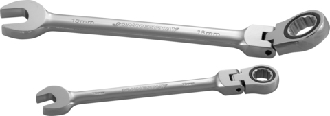 W66117 Ключ гаечный комбинированный трещоточный карданный, 17 мм