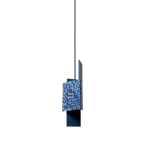 Подвесной светильник копия PIECE by Bentu Design (синий)