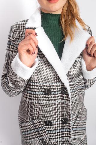 Кашемировое пальто с синтепоном Nadya