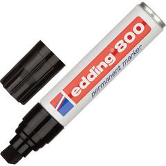 Маркер перманентный Edding E-800/1 черный (толщина линии 4-12 мм)