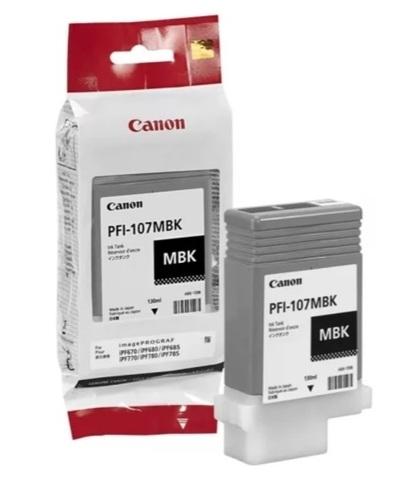 Оригинальный картридж Canon PFI-107MBK 6704B001 матовый черный