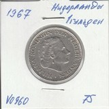 V0960 1967 Нидерланды 1 гульден