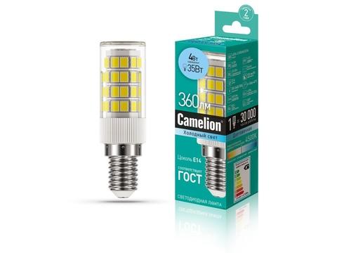 Camelion Лампа LED4-S105/845/E14 (для бытовой техники)