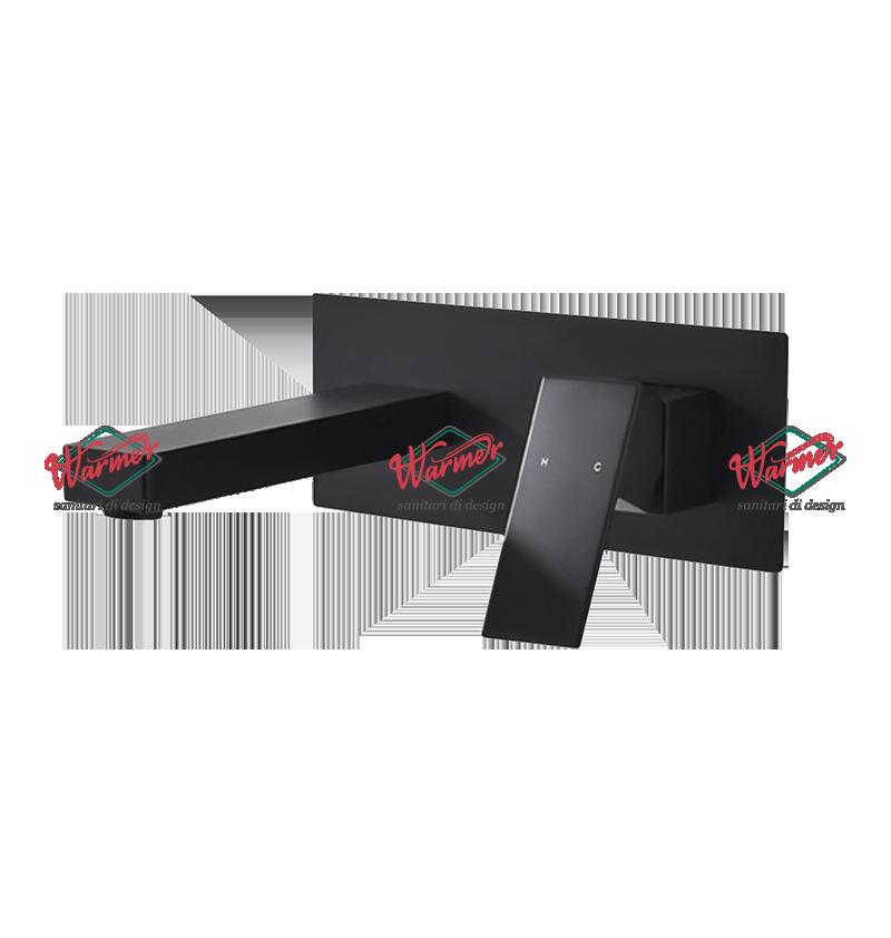 Смесители скрытого монтажа Встраиваемый смеситель для раковины Warmer Black Line 220210 BL634-3.png