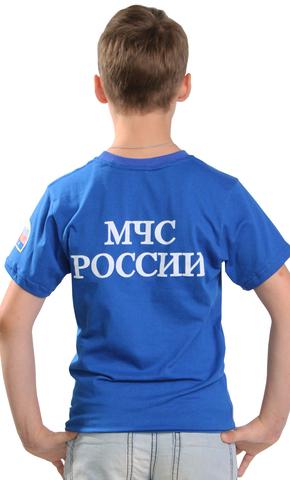 Футболка детская василек МЧС
