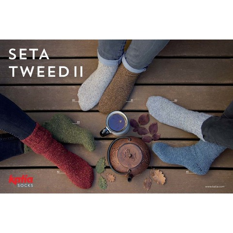 Katia Seta Tweed II Socks - 82