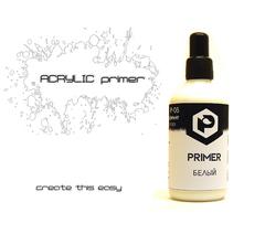 Pacific.Белый грунт (white primer) 100мл. P