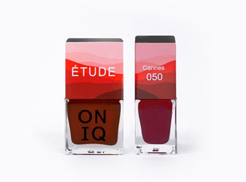 ONP-050 Лак для покрытия ногтей с эффектом акварели Triptych ETUDE: Cannes