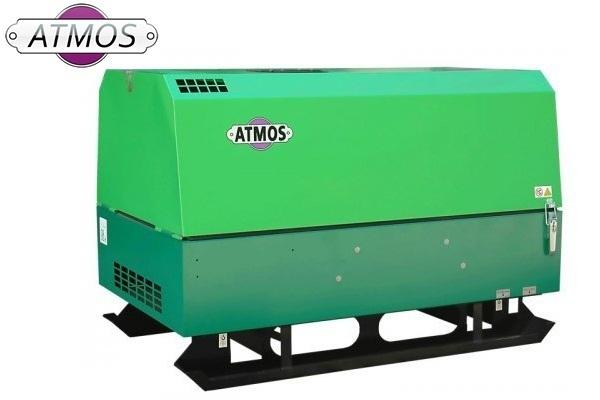 Дизельный компрессор ATMOS PDP 28 без шасси 7 бар 4800 л/мин