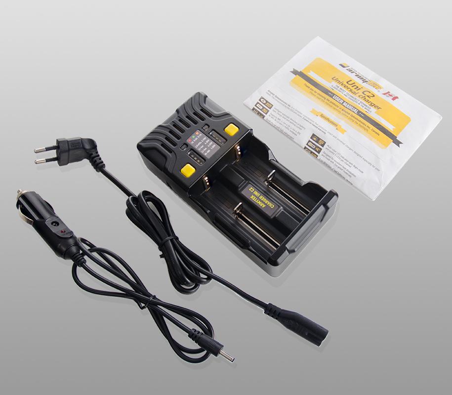 Универсальное зарядное устройство Armytek Uni C2 - фото 1