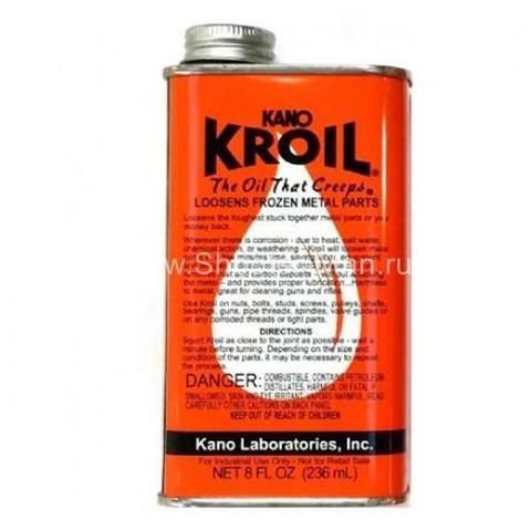 Масло Kano Kroil универсальное с высокой проникающей способностью, температура +50-50С, 220мл